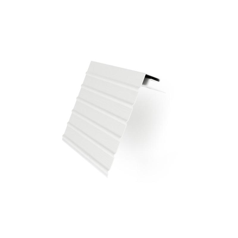 Планка Фаска Альта-Профиль (белая)