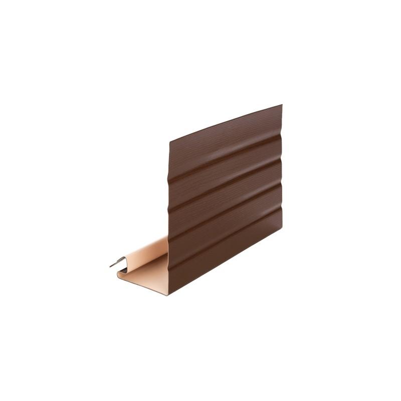 Планка Фаска Альта-Профиль (коричневая)