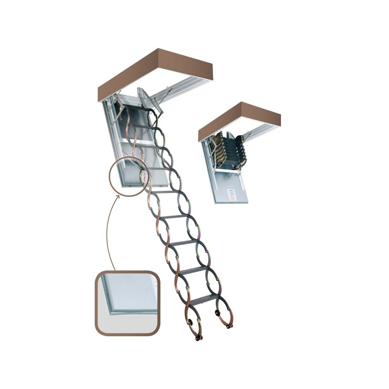 Огнестойкая чердачная лестница Fakro LSF