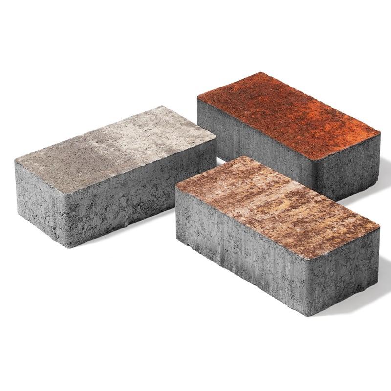 Тротуарная плитка 60 мм Колормикс «Брусчатка» 200х100х60