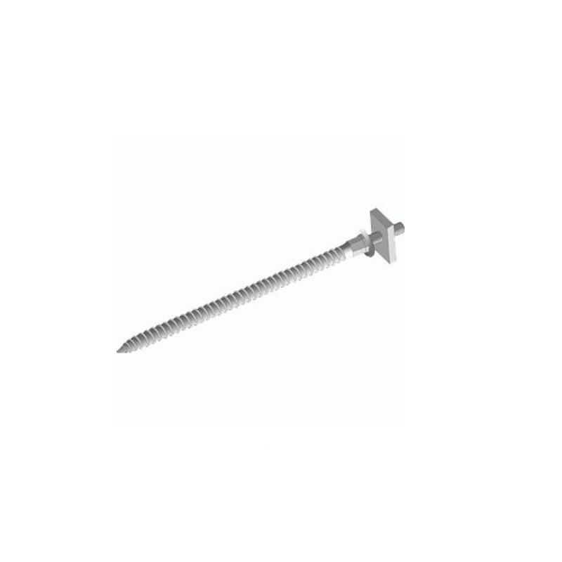 Шпилька специальная с гайкой 120 мм (оцинк.) Docke
