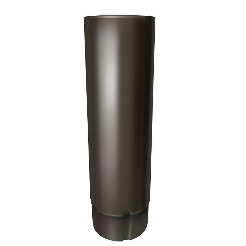 """Труба 3м GL """"Оптима"""" (125x90)"""