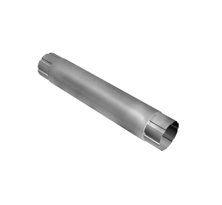 Труба 1м соединительная Алюцинк GL (125x90)