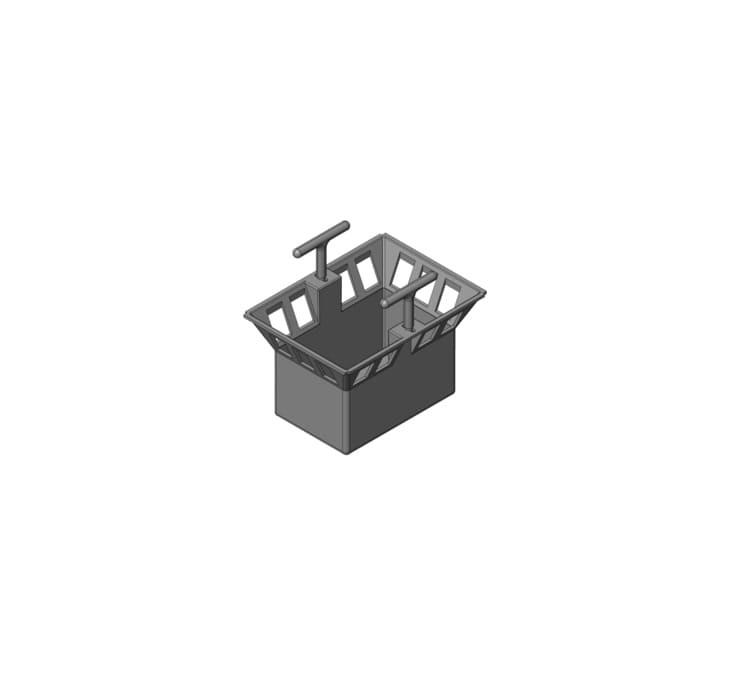 Корзина для дождеприёмника Gidrolica Point ДП-20.20