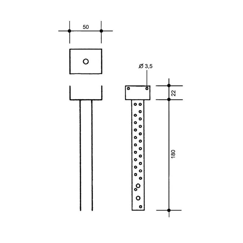 Крепление коньковой/хребтовой обрешетки BRAAS