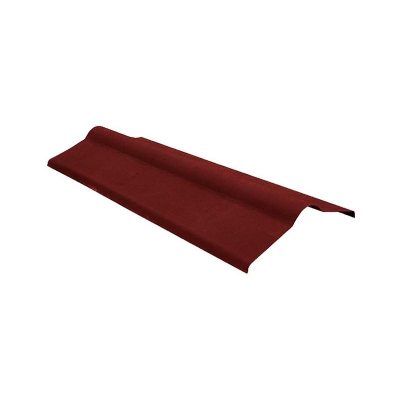 Коньковый элемент Черепица (красный, коричневый)