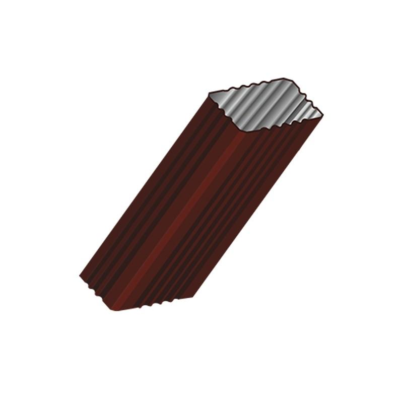 Труба водосточная 76x102x2000 МП